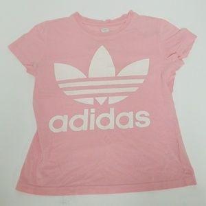 Original adidas pink t shirt